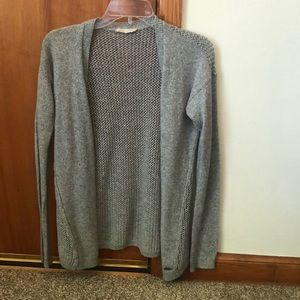 Hollister grey cardigan